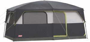 5 Coleman Prairie Breeze Lighted Cabin Tent