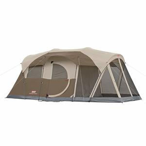 9 Coleman WeatherMaster 6-Person Tent with Screen Room