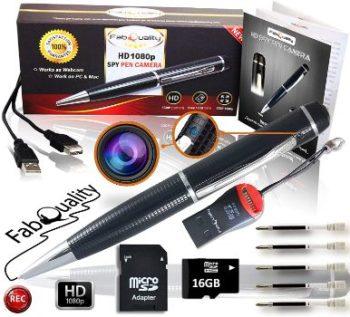 1. FabQuality Spy Pen Camera