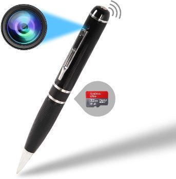 10. VSYSTO Mini Spy Pen Camera