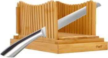 3. Flurff Foldable Bamboo Bread Slicer