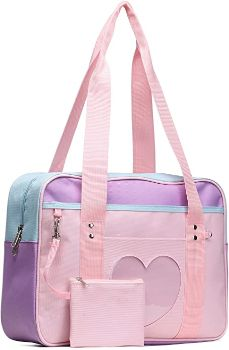 3. SteamedBun Heart Shaped Ita Bag