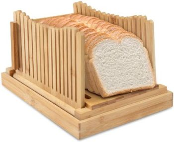 5. Ivation Collapsible Folding Bread Slicer