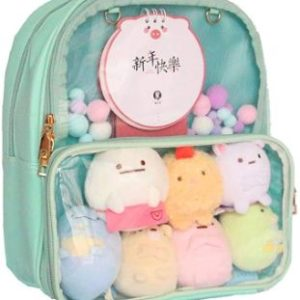 7. Patty Both Ita Bag Clear Backpack
