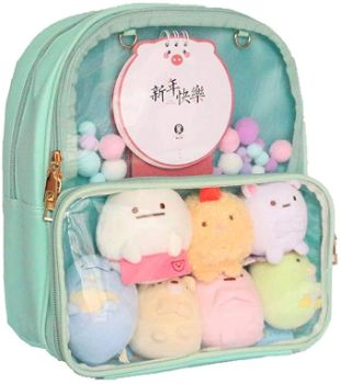 7. Patty Both Ita Bag Clear Backpack