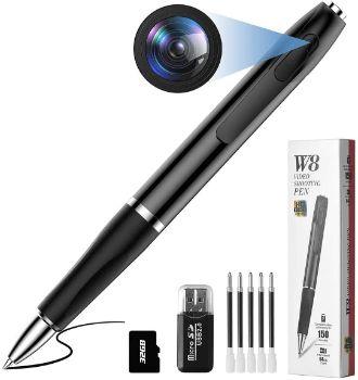 9. Qouya Mini Spy Pen Camera