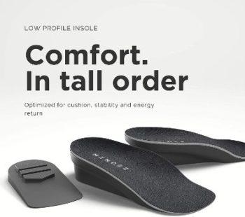 1. Mendez™ Premium Height Increase Insole
