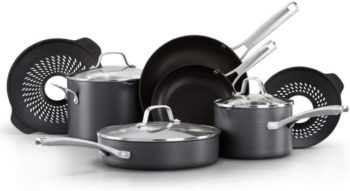 5. Calphalon Classic Pots and Pans Boil-Over Inserts