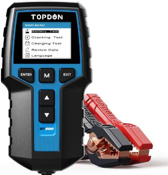 9. TOPDON BT200 Automotive Alternator Tester