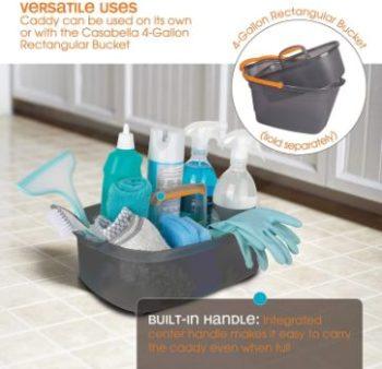10. Casabella Cleaning Handle Bucket