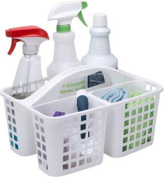 2. Simplify Bath Bliss Plastic Storage Utility Caddy Tote