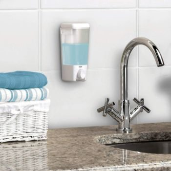 4. Better Living Products Clear Choice 1 Single Chamber Soap Dispenser