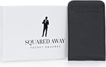 4. Squared Away Pocket Square Holder