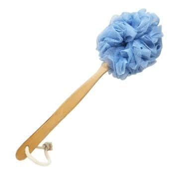 5. RASDDER Bath Brush with Loofah Mesh