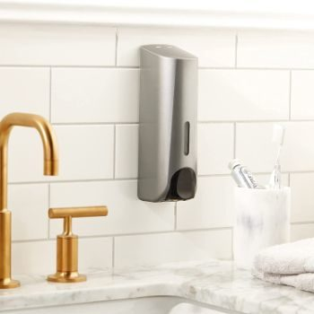 6. Draco Trio Wall Mounted Shower Dispensers