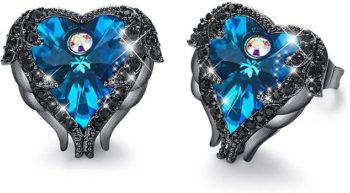 7. CDE Angel Wing Earrings for Women