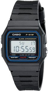 #1. Casio F91W-1 Digital Sport Watch