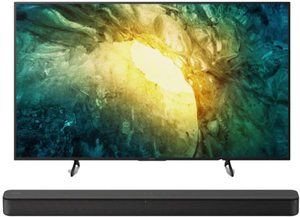 10. Sony KD-55X750H 4K UHD Smart LED TV