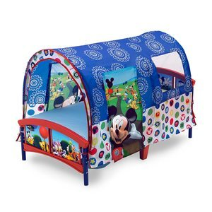 #2. Delta Children Tent Bed