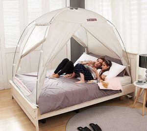 #3. BESTEN Floorless Indoor Bed Tent