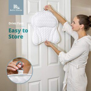 #3. Luxurious Bath Pillow