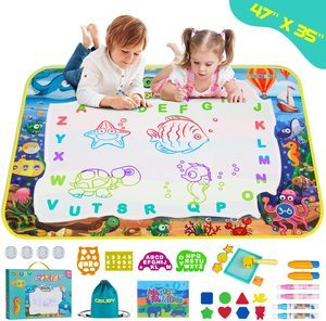 #3. Obaby Aqua Magic Doodle Mat Kids