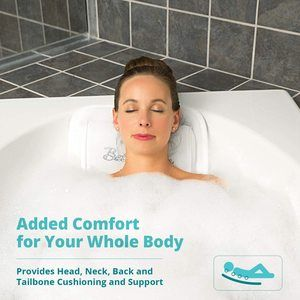 #4. QuiltedAir Bath Pillow