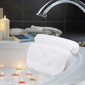 #7. AmazeFan Bath Pillow