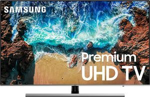 8. Samsung UN55NU8000FXZA 4K UHD 8 Series Smart LED TV