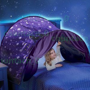 #9. DreamTents Pop-up Bed Tent
