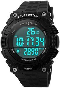 #9. Fanmis Unisex Digital Sports Watch