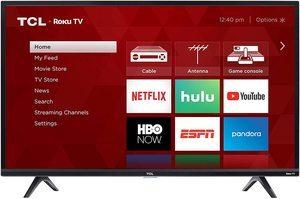 9. TCL 49S325 1080p Smart Roku LED TV