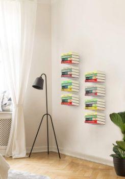 #1. STORAGE MANIAC Floating Bookshelves