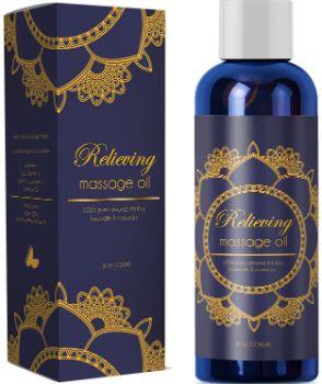 #10. HONEYDEW Pure Sensual Massage Oil