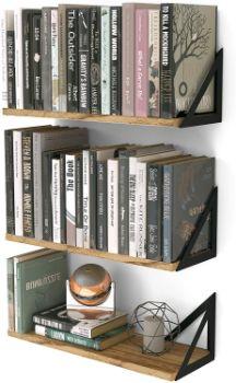 #2. Wallniture Minori Floating Shelves