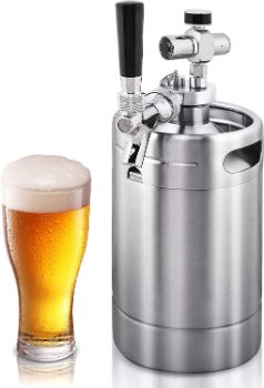 #3. NutriChef Mini Keg Dispenser
