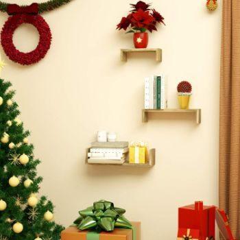 #3. SRIWATANA Floating Shelves