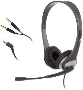 4. Cyber Acoustics AC204 Headset