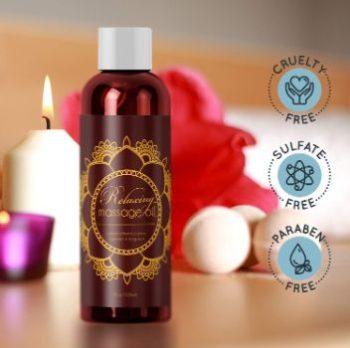 #4. HONEYDEW Relaxing Massage Oil