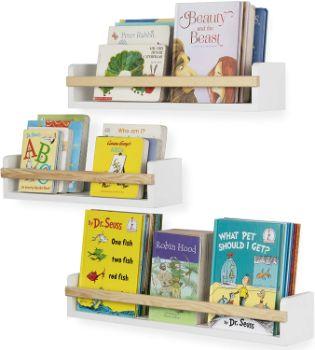 #5. Wallniture Floating Bookshelf