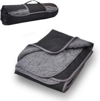 #6. Tirrinia Outdoors Waterproof Throw Blanket
