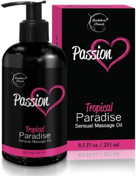 #7. Brookethorne Naturals Passion Sensual Massage Oil
