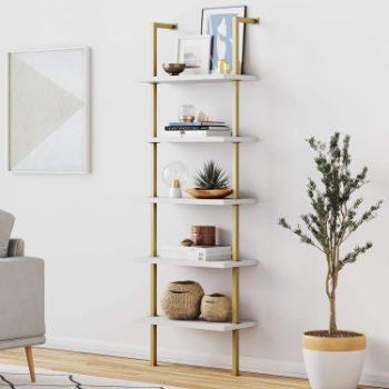 #8. Nathan James Modern Bookshelf