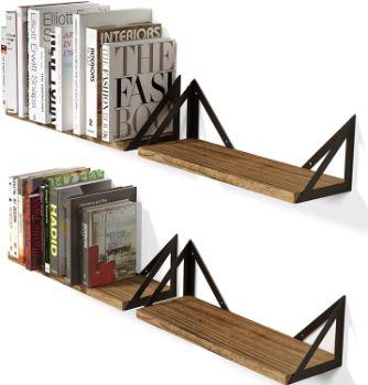 #9. Wallniture Floating Shelves